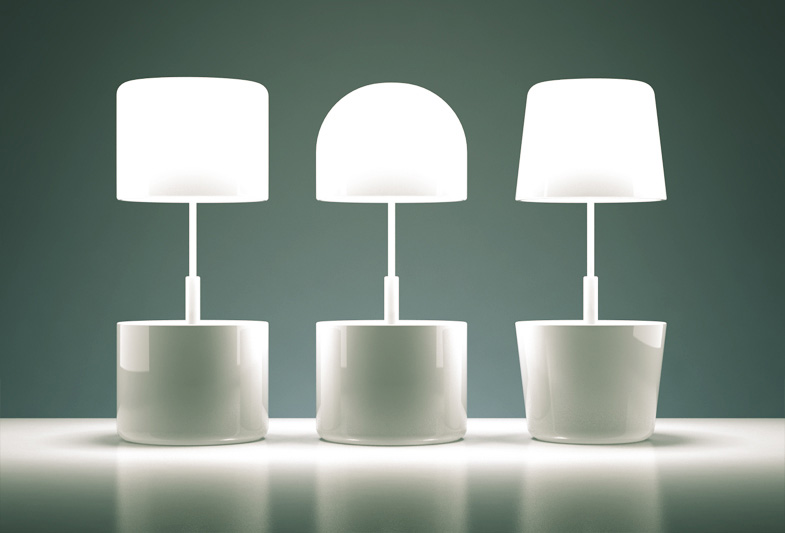 Cap Lamp - Night Light and Storage Combined