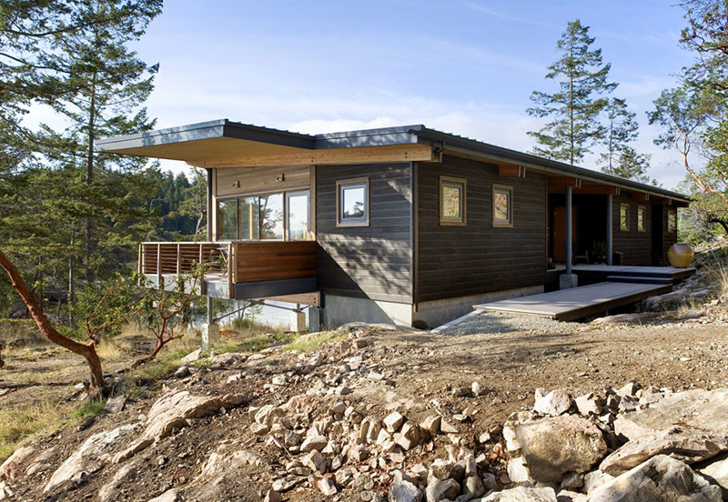 Cortes Island Residence 1