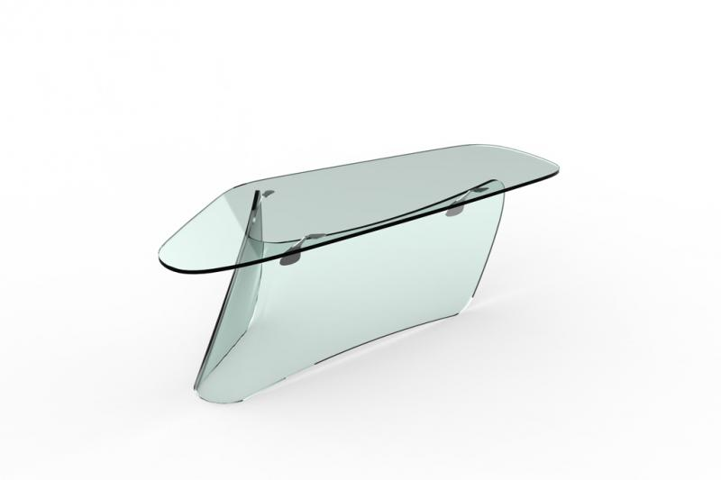 Graph Glass Table 2