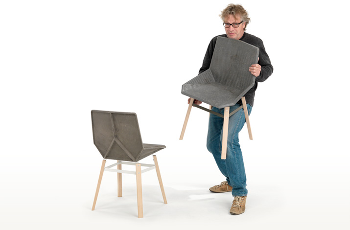 100% Recyclable Green Chair 5