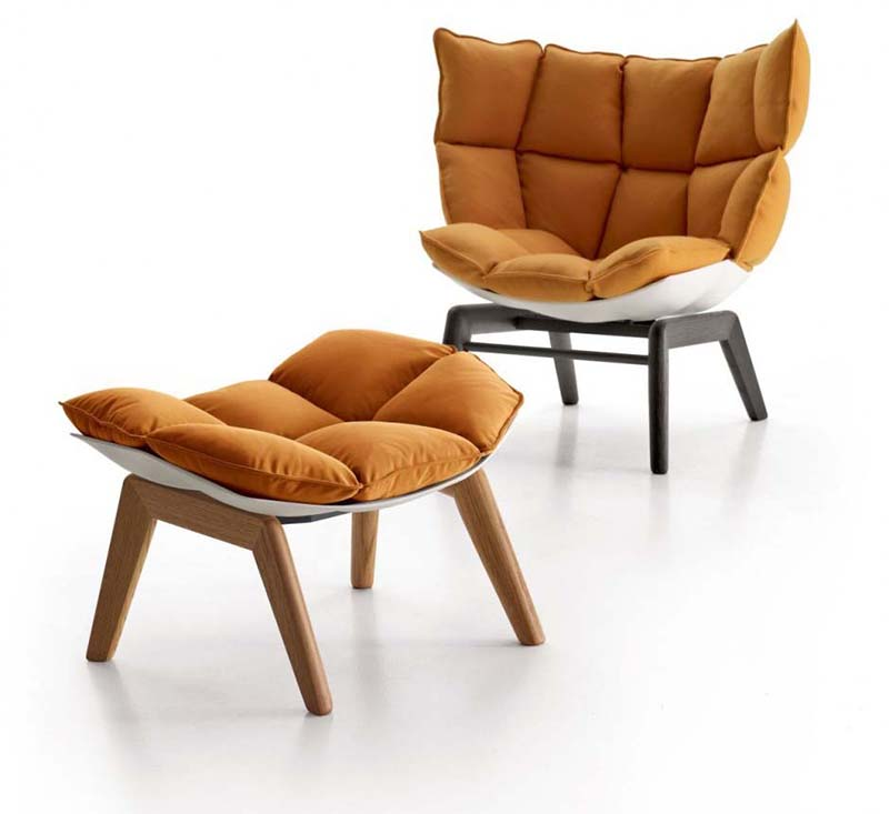 Husk Chair By Patricia Urquiola For Bab Italia on black outdoor rocking chair cushions