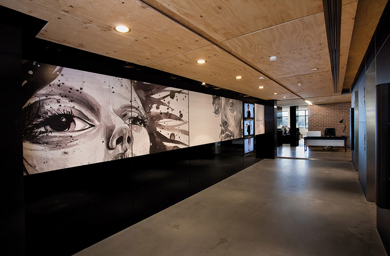 Leo burnett office interiors by hassell for Interior design agency sydney