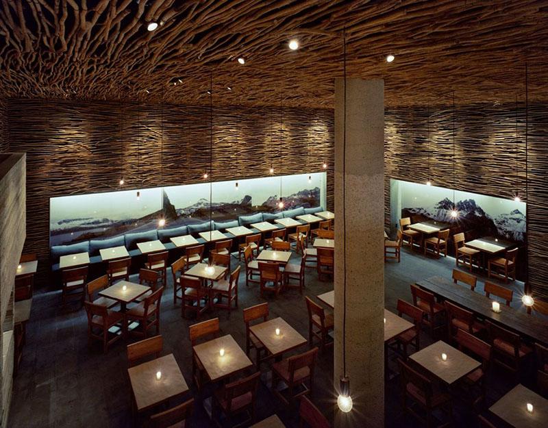 Rustic Restaurant Interiors