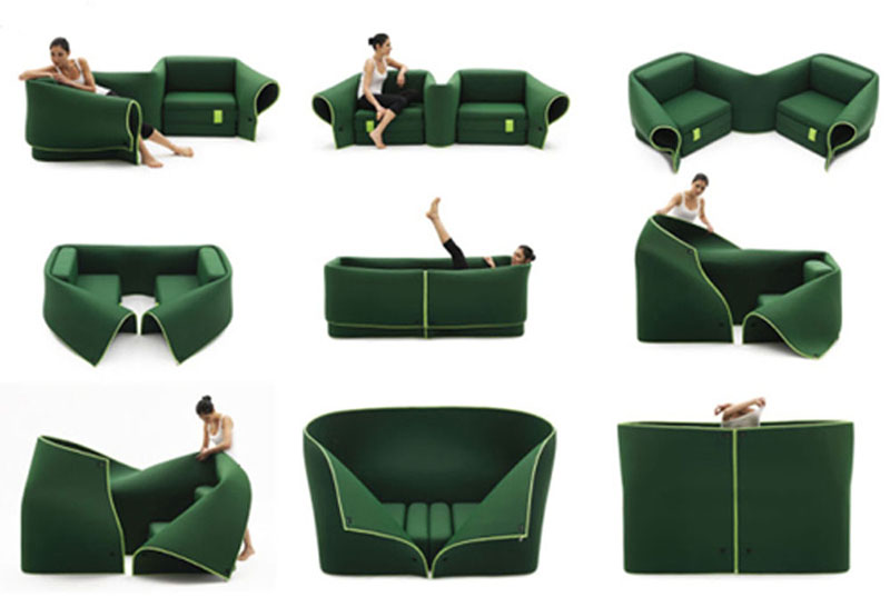 Multipurpose Furniture Sosia By Emanuele Magini