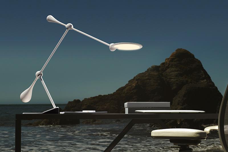Trapeze LED Table Light 2