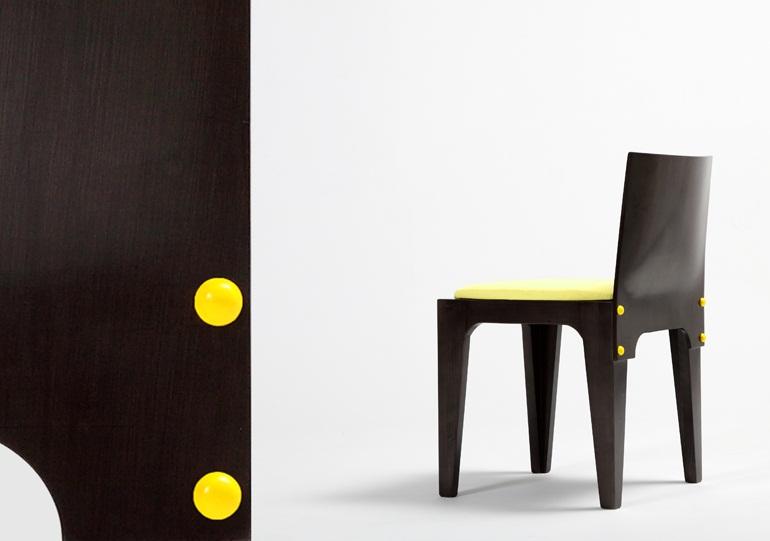 Button Chair 1