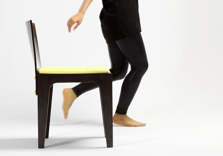 Button Chair 3