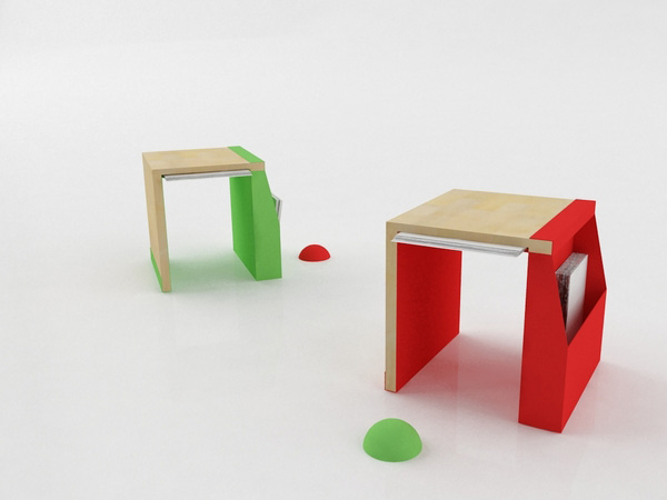 Folder Chair by Vladimir Paripovic 1