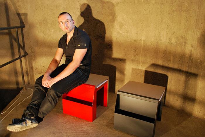 Folder Chair by Vladimir Paripovic 3