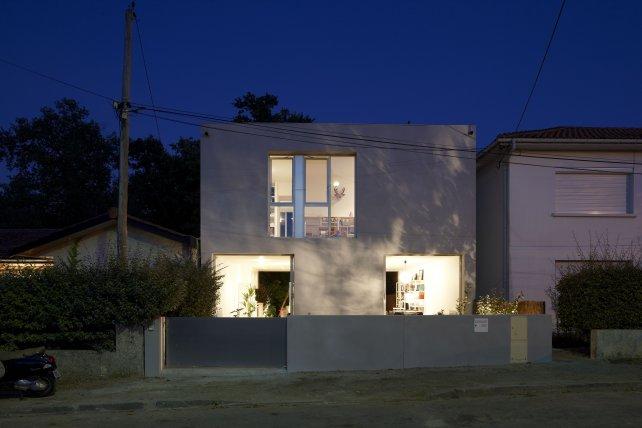 House 69 at night