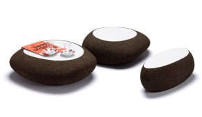 Pebble Shaped Coffee Table Lasca