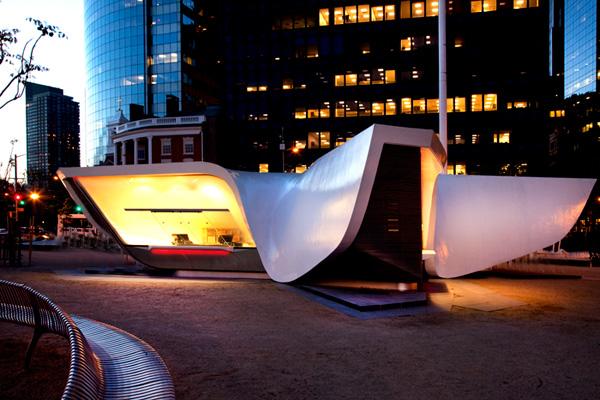 New Amsterdam Plein and Pavilion 3