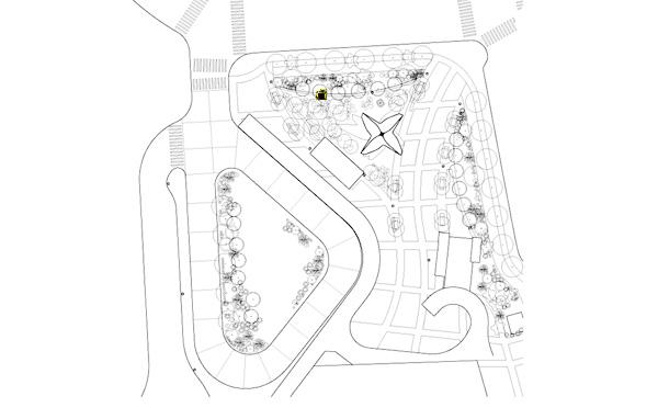 New Amsterdam Plein and Pavilion 7