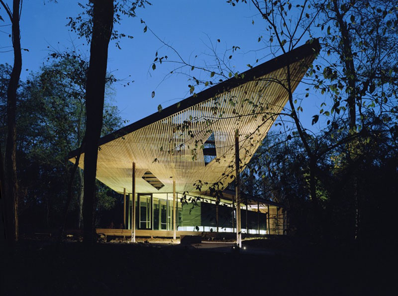Ruth Lilly Visitors Pavilion 1