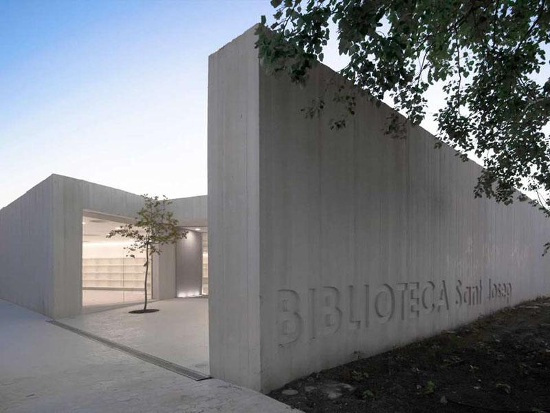 Sant Josep Library by Ramon Esteve 2