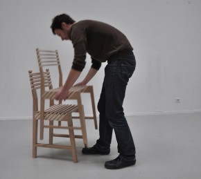 Triplette Chair by Paul Menand Design