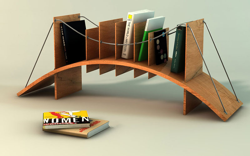 Small indian bedroom design - Bosforus Bookcase By Naifdesign