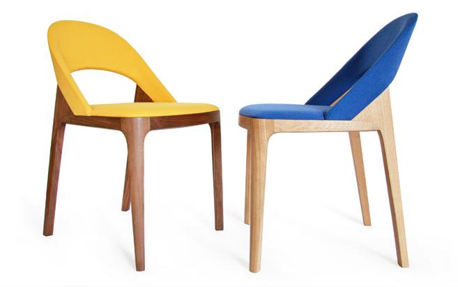Clamp Chair by Andreas Kowalewski