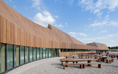 Favrholm Conference Center by SeARCH