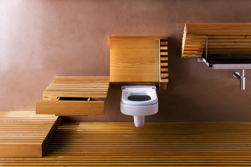 Invisible Bathroom Furniture Collection 3