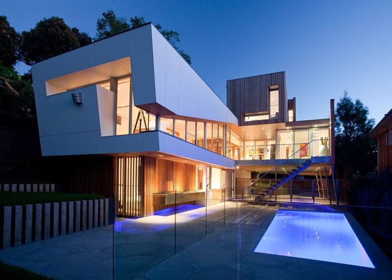 Modern house design Kew House 3