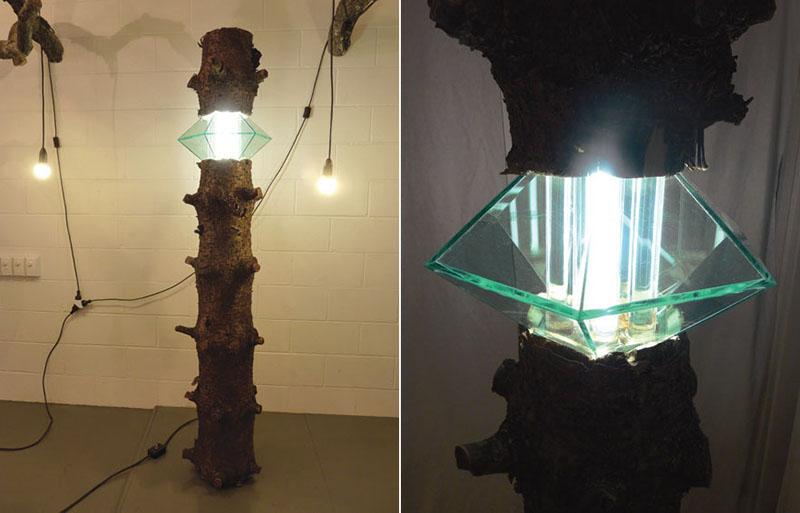 Log Lamp by Joel Booy and HAW 3