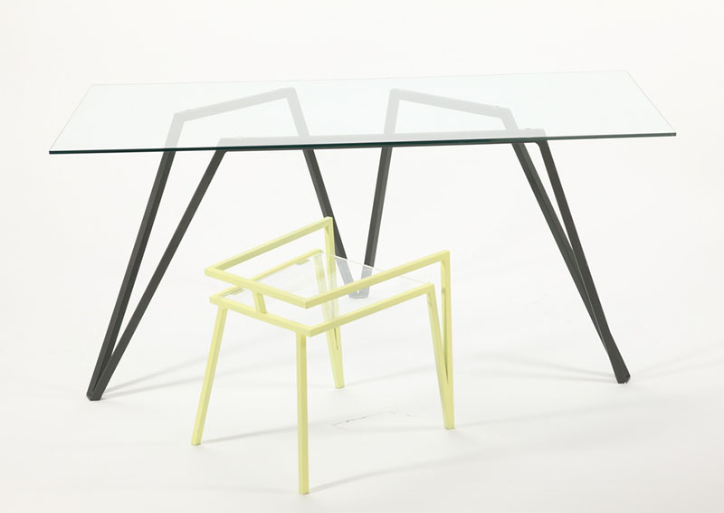 Marque Workstation Table and Stool