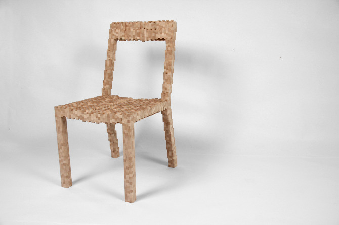 Pixel Chair 1
