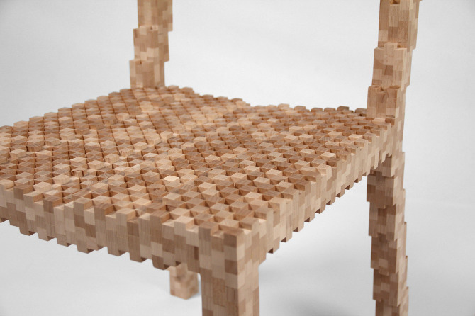 Pixel Chair 2