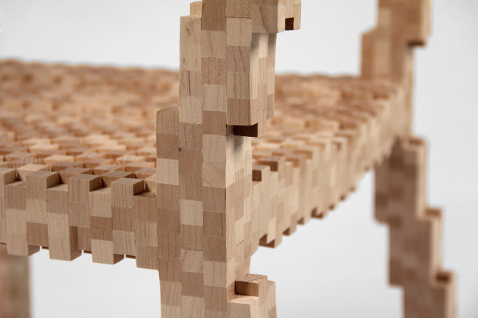 Pixel Chair 4