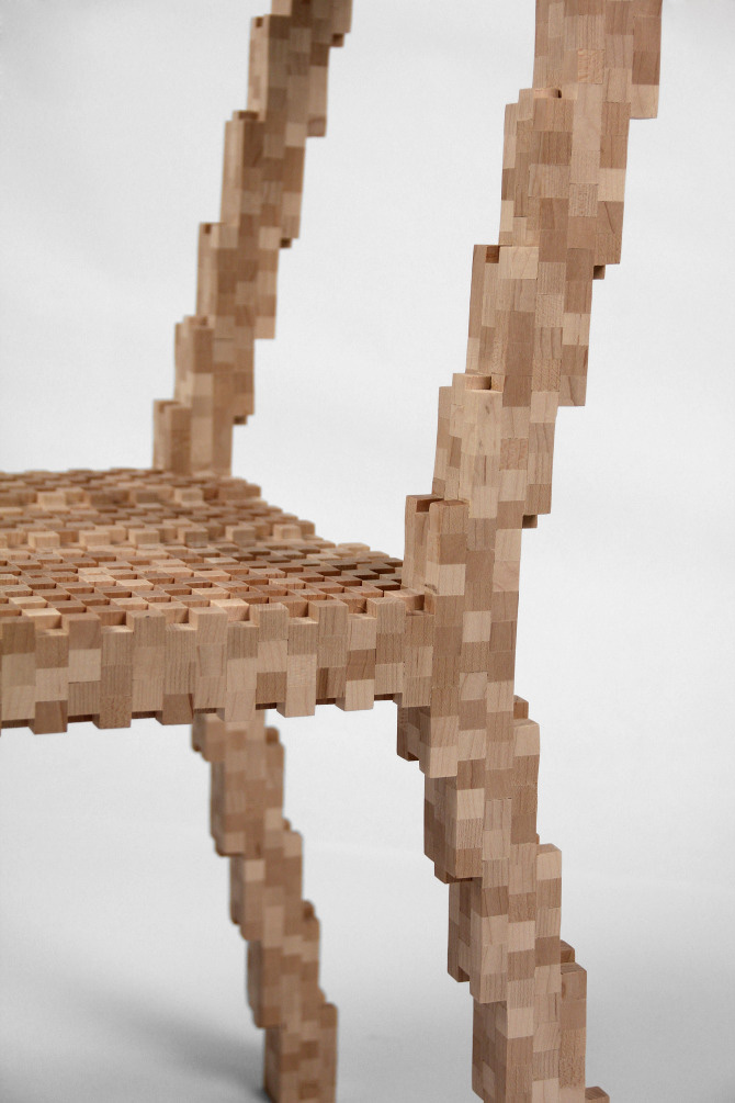 Pixel Chair 5