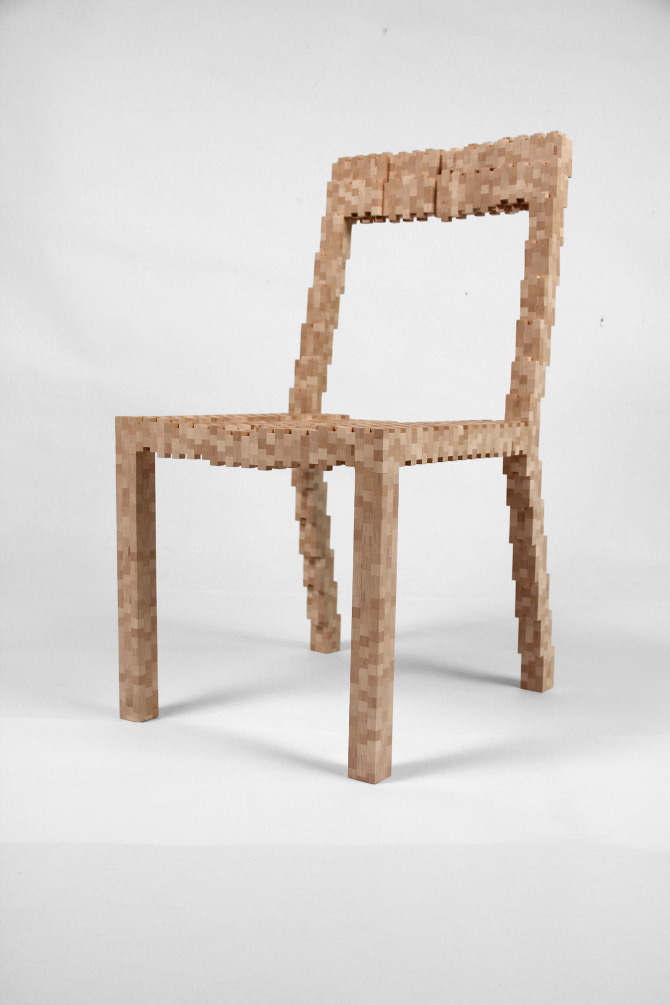 Pixel Chair 6