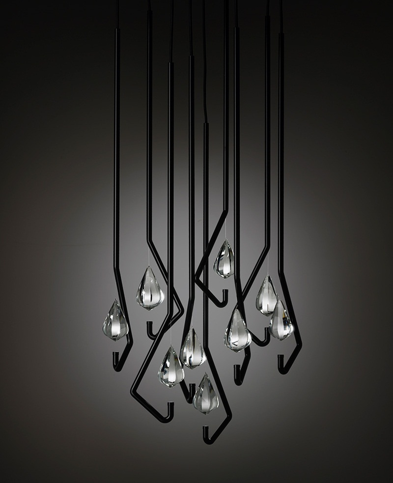 One Crystal Chandelier Light 4
