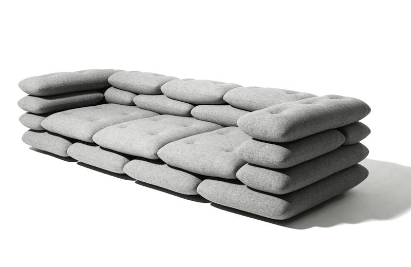 Brick furniture series by KiBiSi