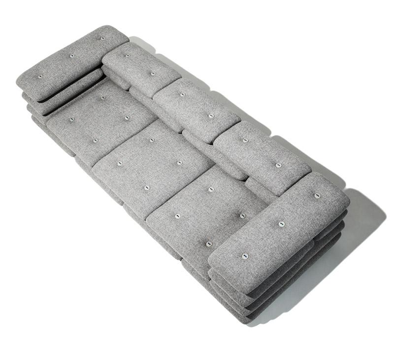 Brick sofaseries by KiBiSi