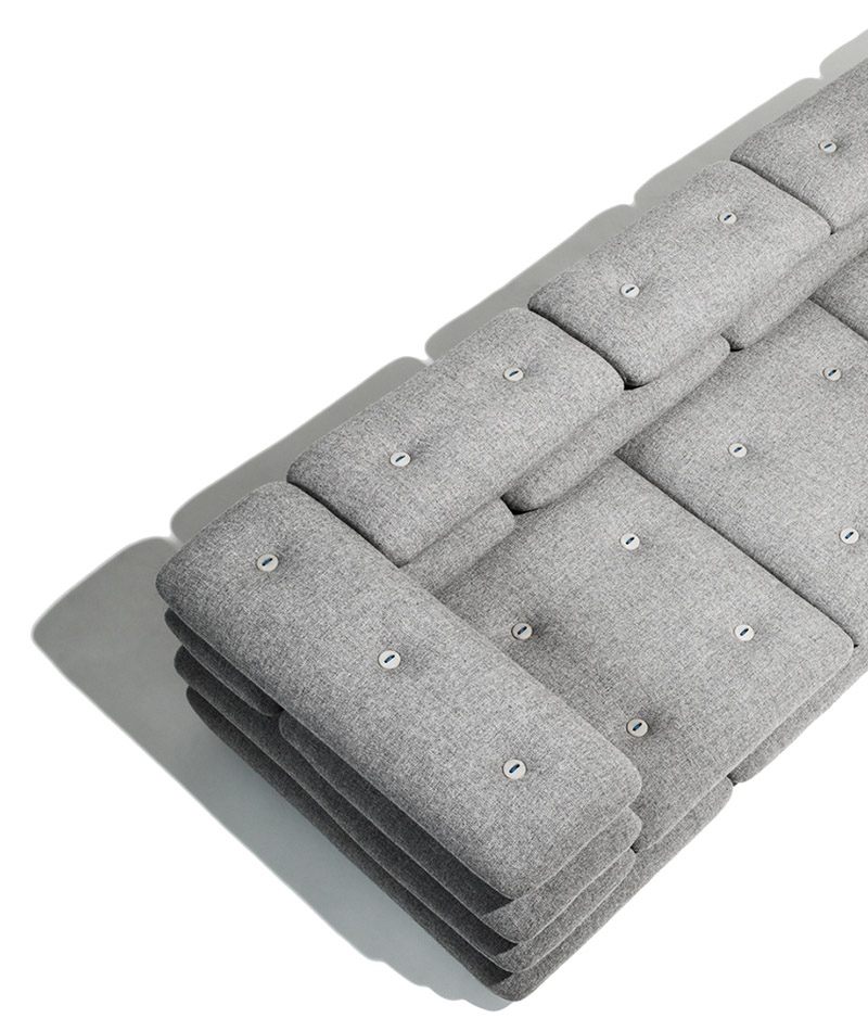 Brick sofa by KiBiSi
