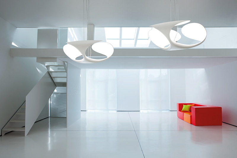 Clover Suspended Lamp 4