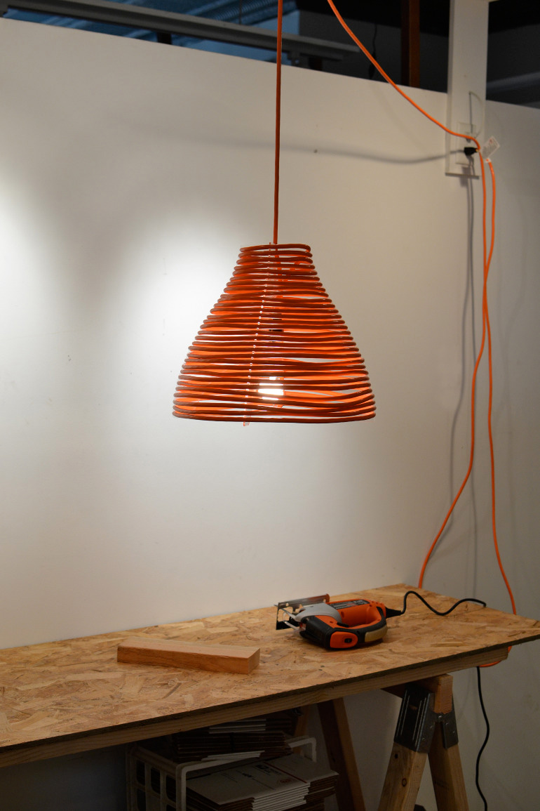 Coil Pendant Lamp 2