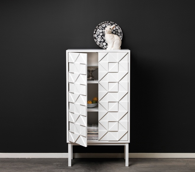 Collect 2011 Cabinet White open