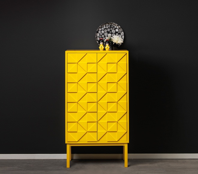 Collect 2011 Cabinet Yellow