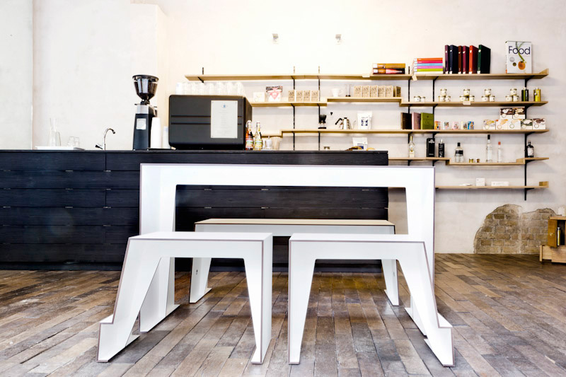 The Compact Cafe Table