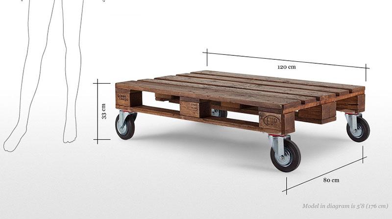 Legion Pallet Table 7