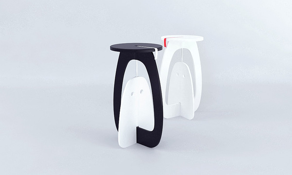 Olly foldable stool concept 3