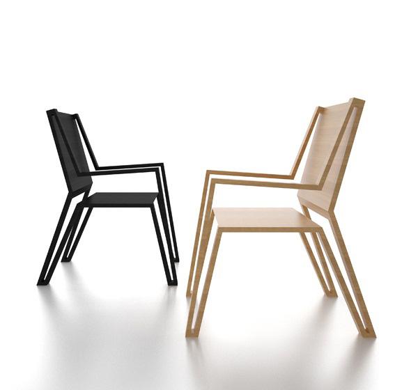 Outline Chair by Michael Samoriz