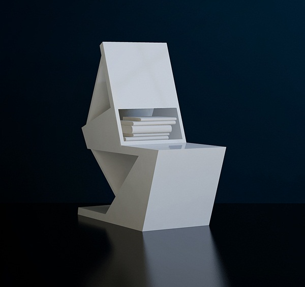Papergeometrix Chair 3