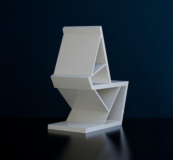 Papergeometrix Chair 4