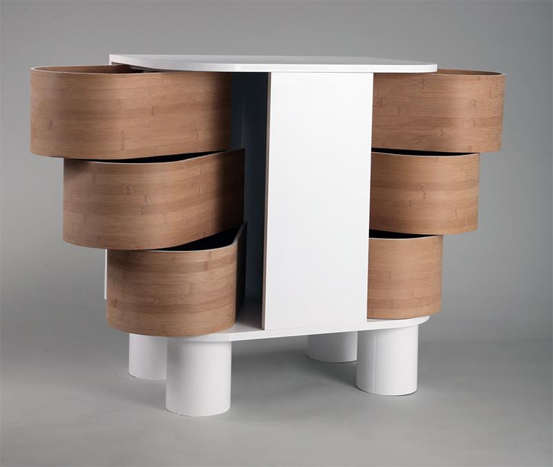 Peekaboo Cabinet by Kaia Helene Lien Lisveen