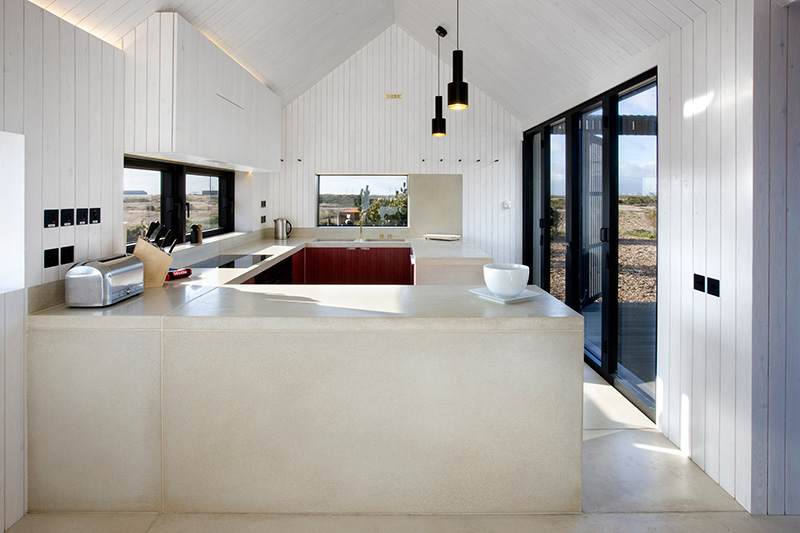 The Shingle House Modular Kitchen