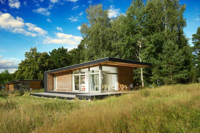 Sommerhaus Piu Prefab Home By Patrick Frey Bj Rn G Tte