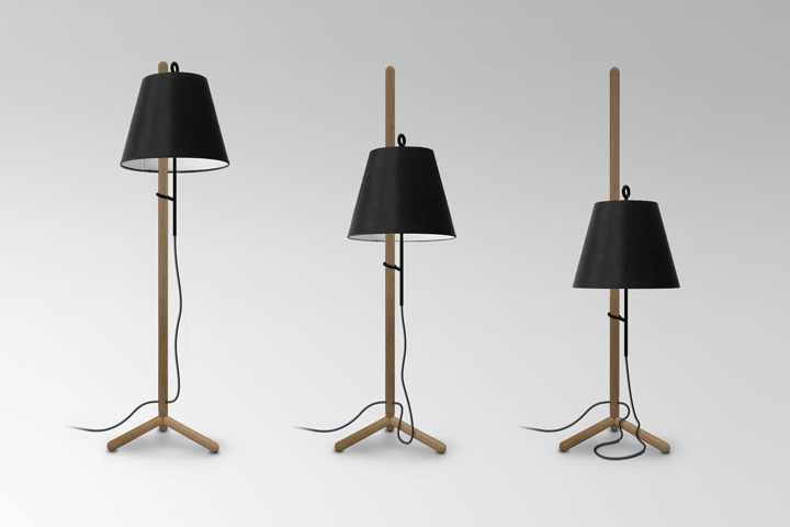 Cantilever Floor Lamp by Evan Clabots